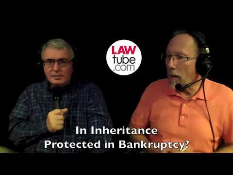 Is inheritance protected from bankruptcy?