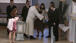 Dåp I Bremnes Kyrkje 08 04 18