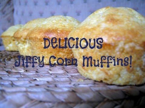 DELICIOUS Jiffy Corn Muffins!
