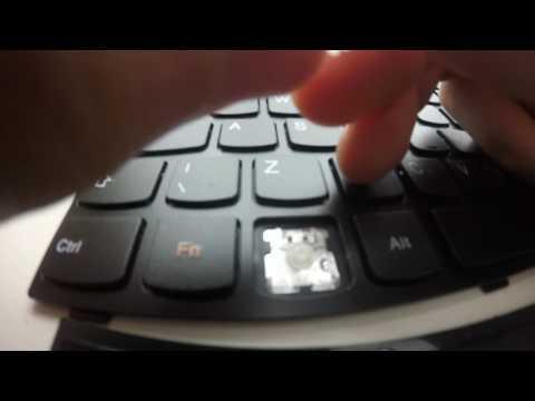 How to remove a key from a Lenovo Ideapad 700 keyboard
