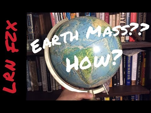 How to Find Earth Mass
