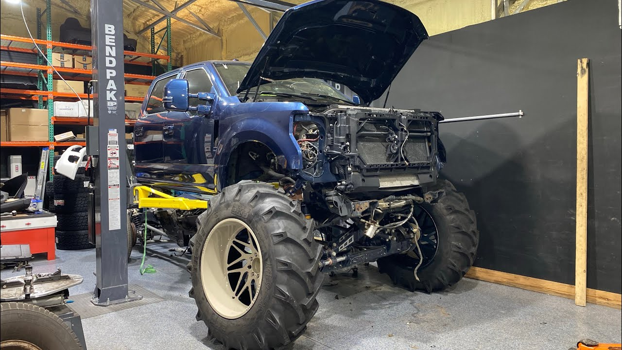 Will Whistlin Diesel's Destroyed F350 Be FINISHED?!