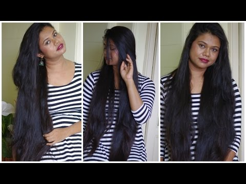 Coconut Milk Cream Hair Treatment For Split Ends, Dry & Frizzy Hair. Natural Home Remedy