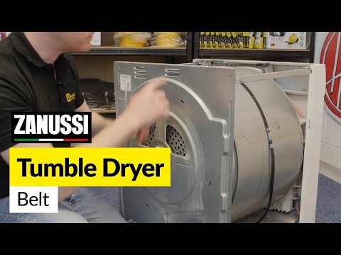 How to Replace a Zanussi Tumble Dryer Drive Belt