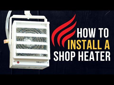Garage Heater Installation | A DIY Guide