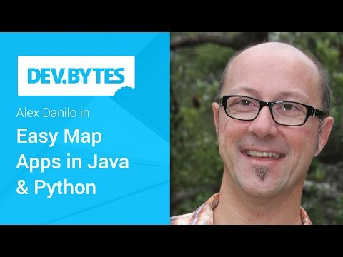 Easy Maps Apps in Java and Python