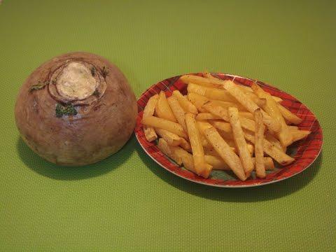 Rutabaga Recipe: Rutabaga Fries Recipe