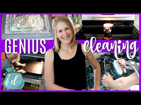 7 GENIUS tips to clean your oven...so it looks brand new! 🍋😱