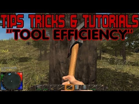 7 Days to Die [Tips, Tricks & Tutorials] How Stamina and Tool Condition Affect Tool Efficiency