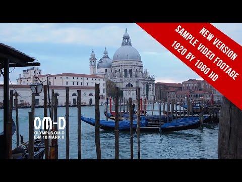 Olympus OMD EM 10 Mark II video footage - 1920 by 1080 HD - 2017