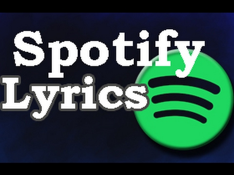 How to see song lyrics Spotify