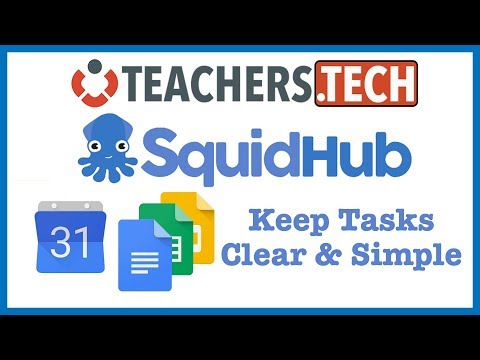 Squidhub - Use Google Apps to Keep Tasks Clear & Simple