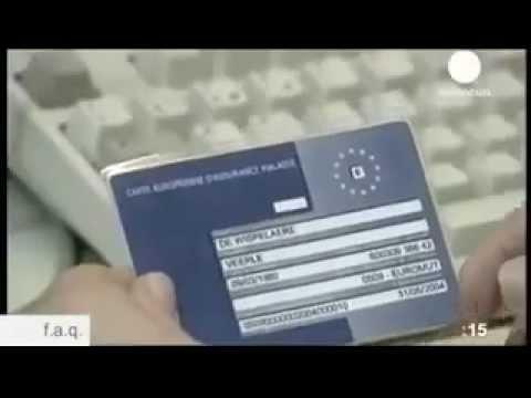 EHIC E111 European Health Insurance Card