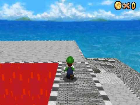 Super Mario 64 DS - custom level - second attempt
