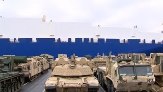 Russia responds to U.S. troops in Poland, Trump intel claims