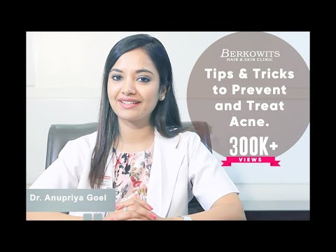 How to get rid of Acne and Pimples? Acne Tips & Tricks By Dr. Anupriya Goel (PART 1)
