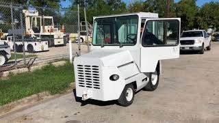 1987 Clark Baggage Tow Tractor For Sale Or Lease