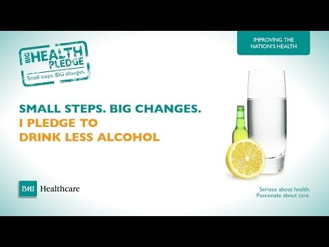 Drink Less Alcohol | BMI Healthcare's Big Health Pledge