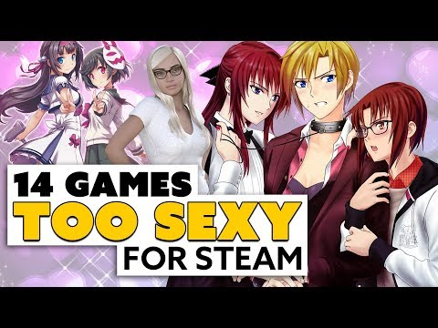 14 Games TOO SEXY for Steam
