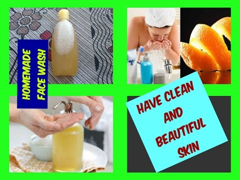DIY SKIN Lightening FACE WASH at Home in Rs.30   Homemade Natural Face Wash for FLAWLESS SKIN