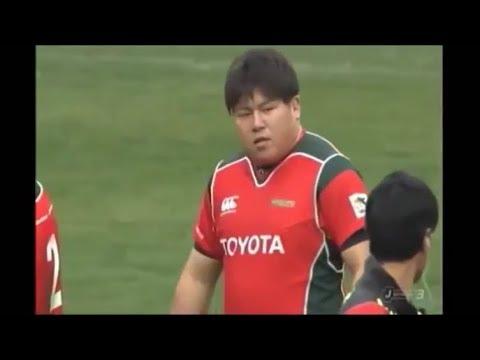 Yoto Ioki makes immediate impact against Panasonic Wild Knights scrum