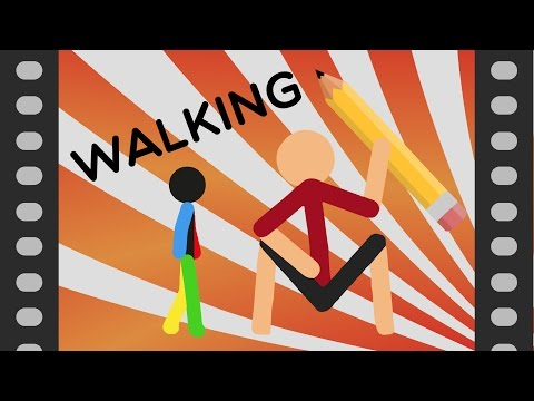 WALKING! Stick Nodes Tutorial!