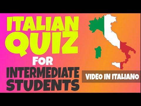 Intermediate Italian Quiz: Learn Italian Phrases, Grammar, Comprehension LIVE Marathon (PART 4) [IT]