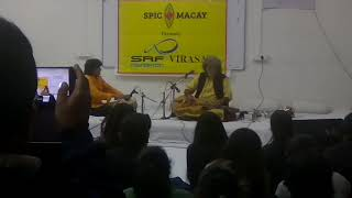 Pandit Vishwa Mohan Bhatt - Amazing Indian Classical Based Fusion Music hosted by SPIC MACAY