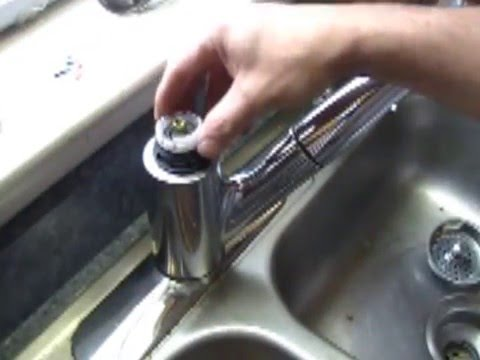 How to fix a broken leaky faucet Moen  (moen warranty)