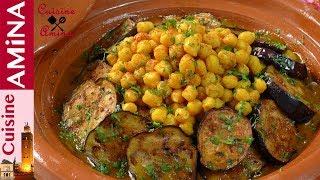 طاجين المدربل المراكشي بالدنجال و الحمص كيجي أكثر من رائع بمذاق جد لذيييذ