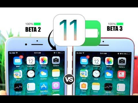 iOS 11 Beta 2 Vs Beta 3 Battery Test