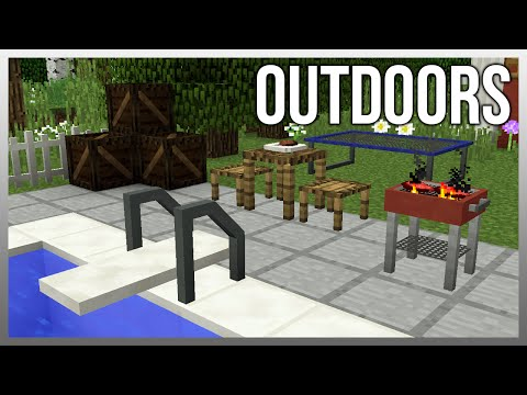 MrCrayfish's Furniture Mod Update #39 - Grill and Divingboard!