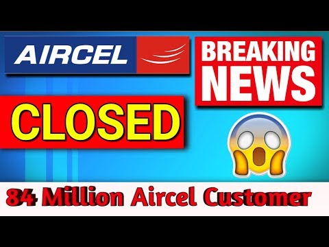 😭🔥 Finally Aircel बंद आज Midnight से PORT OUT Urgently From AIRCEL | Get Airtel Network in Aircel