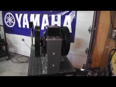 Home built Jaw Crusher / homemade Impact Mill / Gold Cube / Gold lab