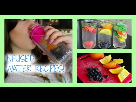 3 Recipes to Infuse Your Water and Make it Taste Better!