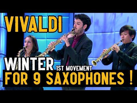 Xxx Mp4 Vivaldi For 9 Saxophones ★ L Inverno ★ Quattro Stagioni 3gp Sex