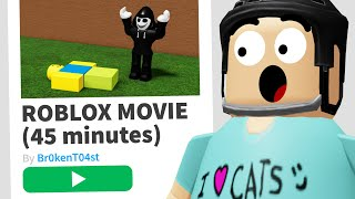 This Roblox Game is a FULL MOVIE..?