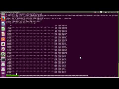 How to install Java SDK in Ubuntu 16.04 (xenial xerus)
