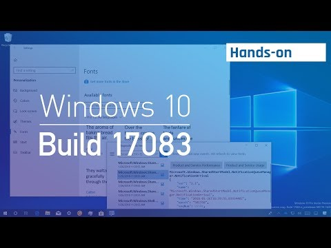 Windows 10 build 17083: Hands-on with Timeline, Fonts, Privacy, new features
