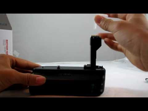 Generic $20 Canon BG-E2 Battery Grip For Canon 20D 30D 40D Quality Test/Review