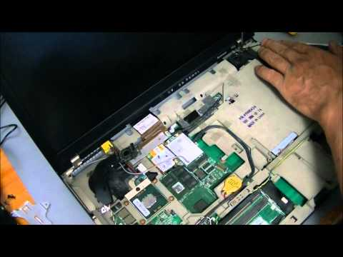 ThinkPad T60p ■ Remove motherboard