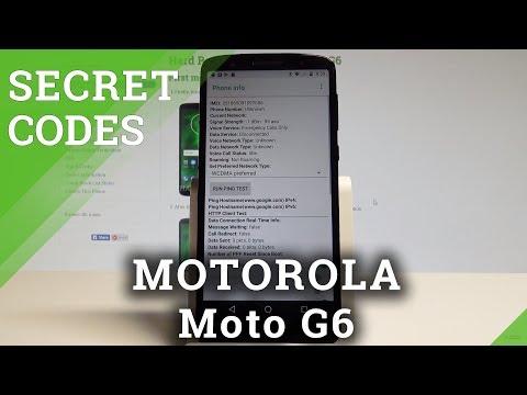 Secret Codes MOTOROLA Moto G6 - Hidden Mode / Tricks / Advanced Settings |HardReset.Info