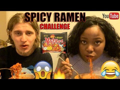EXTREME SPICY RAMEN CHALLENGE!  | Ollie + Tay