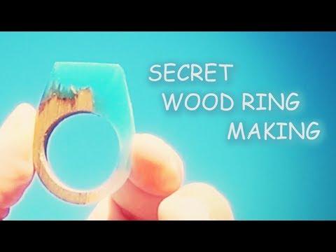 Secret Wood Ring Making