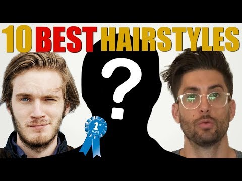 Top 10 BEST Men's Hairstyles on Youtube