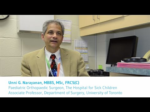 Dr. Unni Narayanan talks about the Orthopaedic Clinic at Grandview Children's Centre