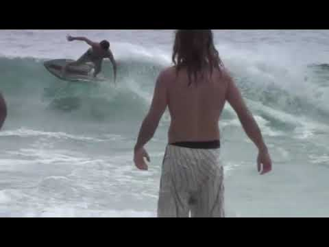 Banshee Bungee Skimboarding at the Beach