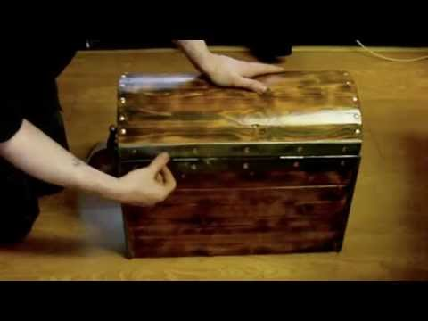 Project Pirate Chest - Made from scrap wood