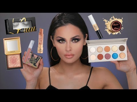 Full Face First Impressions Makeup | Kkw x Mario, Benefit, Too faced, Urban Decay & More