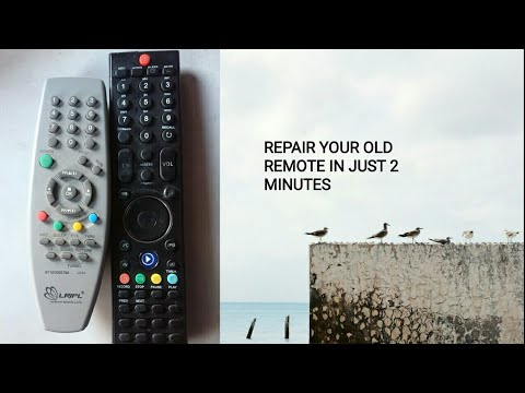 How to clean your TV Led remote control